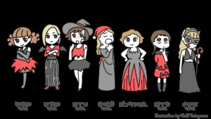 更年期の七人の魔女